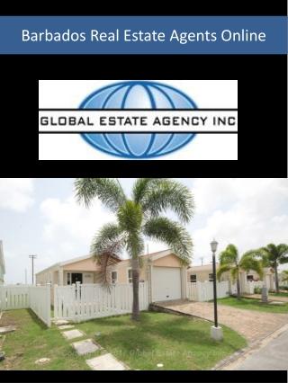 Barbados Real Estate Agents Online