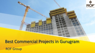 Best Commercial Projects in Gurugram | ROF Group