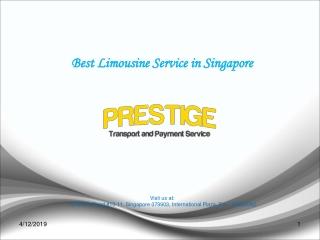 Airport Transfer, Luxury Limousine Service Singapore - Prestige Transport