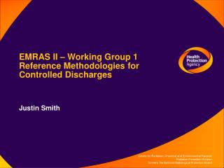 EMRAS II   Working Group 1 Reference Methodologies for Controlled Discharges