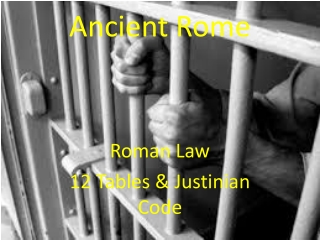 Roman Trials and Punishments