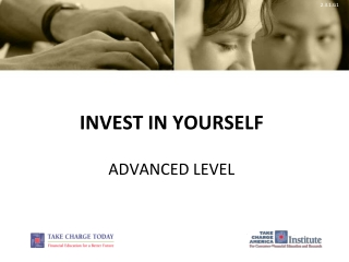Invest in yourself Advanced Level