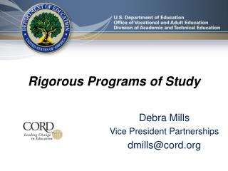 Rigorous Programs of Study