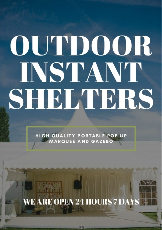Make Your Event a Success With Printed Marquees