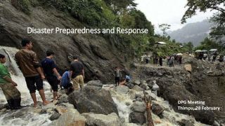 Disaster Response Preparedness and Capacity Building