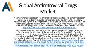 Global Antiretroviral Drugs Market