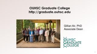 OUHSC Graduate College graduate.ouhsc