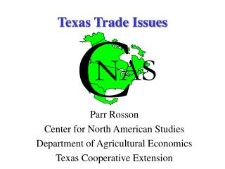 Texas Trade Issues