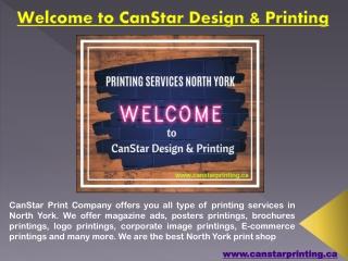 CanStar Design & Printing Services North York