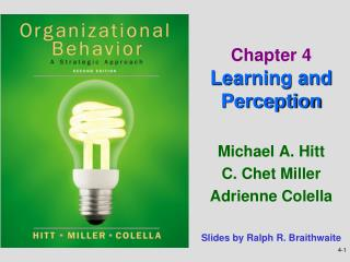 Chapter 4 Learning and Perception