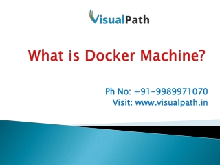 Docker Training| Docker Online Training