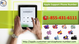 We offer Apple Support Phone Number 1-855-431-6111 which is working round the clock for free