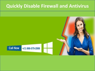 Call for Windows Technical Support (1) 866-579-2999
