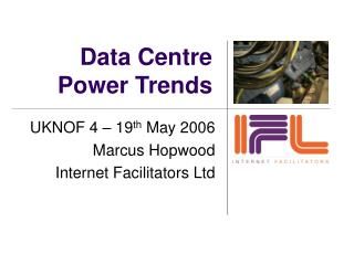 Data Centre Power Trends
