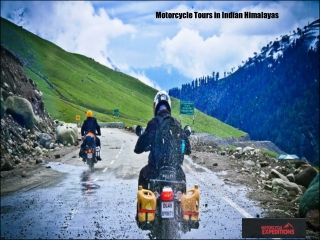 Motorcycle Tours in Indian Himalayas