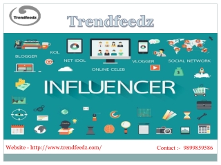 Best influencer marketing companies in india