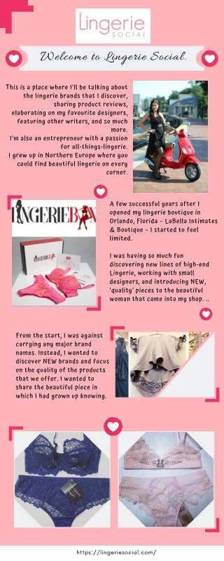 Best Lingerie Designs at Lingerie Social
