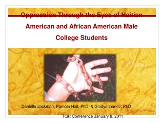 Oppression Through the Eyes of Haitian American and African American Male College Students