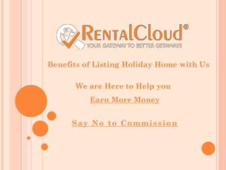 List of Benefits for Holiday Home Owners - Rental Cloud