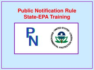 Public Notification Rule State-EPA Training