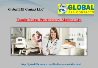 Family Nurse Practitioners Mailing List