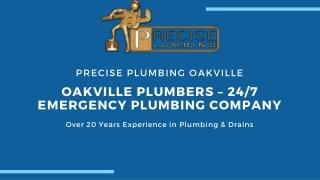 OAKVILLE PLUMBERS – 24/7 EMERGENCY PLUMBING COMPANY