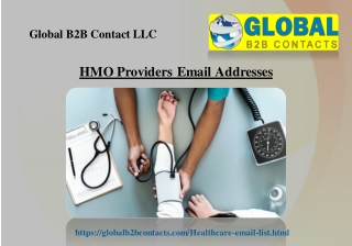 HMO Providers Email Addresses