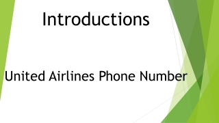 United Airlines Phone Number