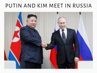Putin and Kim meet in Russia