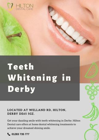 Teeth Whitening in Derby