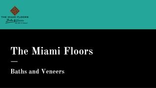 Wood Look Flooring in Miami