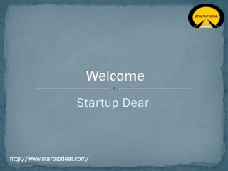 Startup Incubator Software | Startup Dear