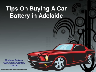 Tips On Buying A Car Battery in Adelaide