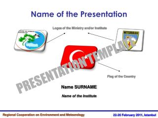 Name SURNAME Name of the Institute