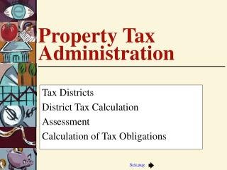 Property Tax Administration