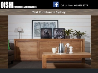 Teak Furniture in Sydney