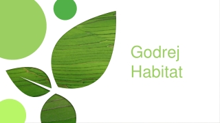 Godrej Habitat Sector 3, Gurgaon