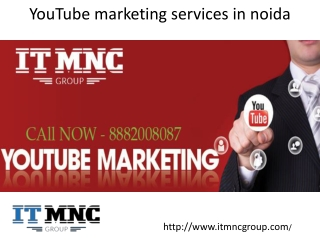 youtube marketing services in noida