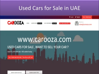 used cars for sale in uae