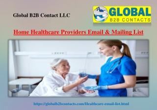 Home Healthcare Providers Email & Mailing List