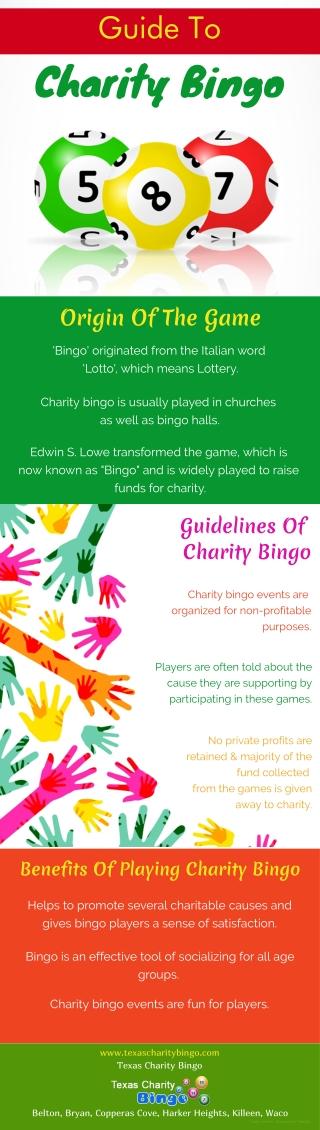 Guide To Charity Bingo