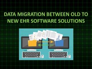 EHR Software Solutions - eData Platform