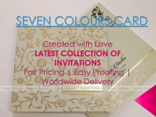 Unique Wedding Invitations Collection