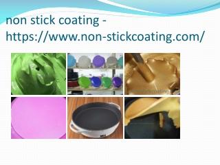 non stick coating