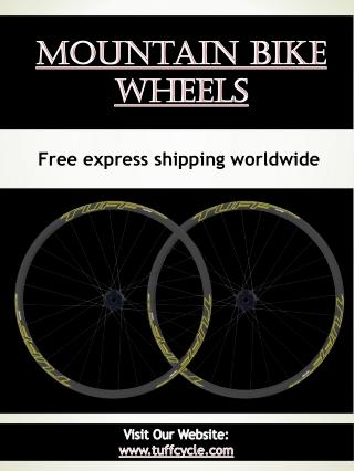 Mountain Bike Wheels   tuffcycle.com