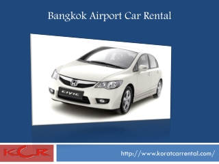 Bangkok Airport Car Rental