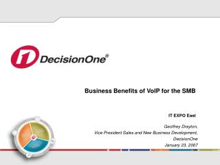 Business Benefits of VoIP for the SMB