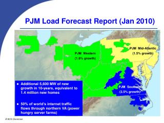 PJM Load Forecast Report Jan 2010