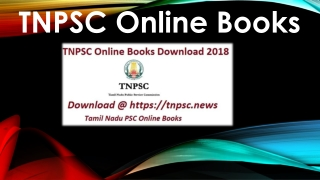 Buy TNPSC Online Books @ Best Price With Latest Edition for TNPSC