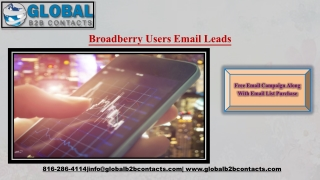 Broadberry Users Email Leads